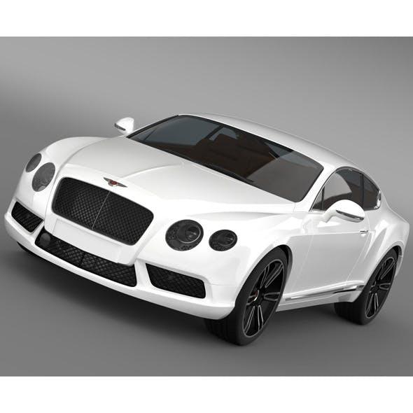 Bentley Continental GT V8 2013 - 3DOcean Item for Sale
