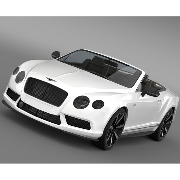 Bentley Continental GT V8 S Convertible 2014 - 3DOcean Item for Sale
