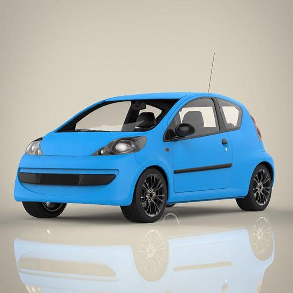 Mini Sport car - 3DOcean Item for Sale
