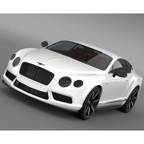 Bentley Continental GT V8 S Coupe 2014 - 3DOcean Item for Sale