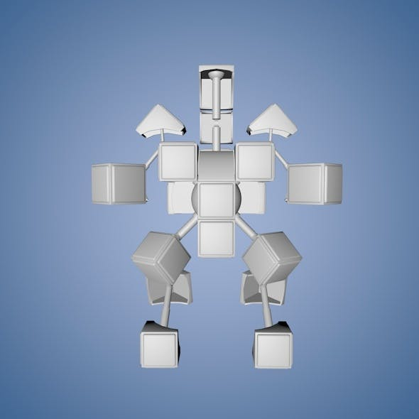 RubikBot - 3DOcean Item for Sale
