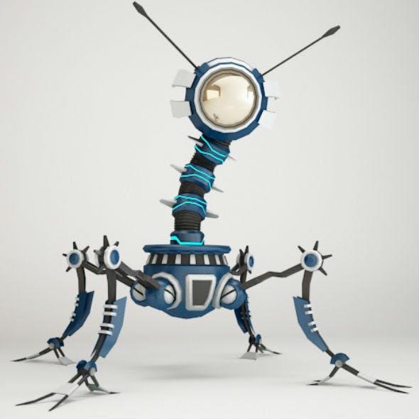 Robot 4AF299 - 3DOcean Item for Sale