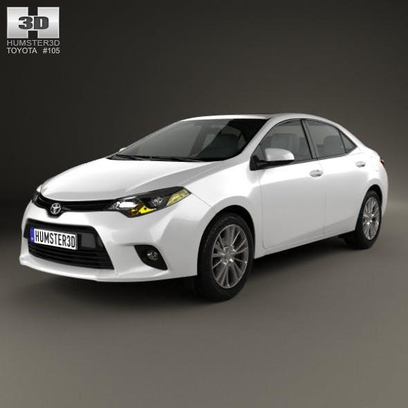 Toyota Corolla LE Eco US 2013