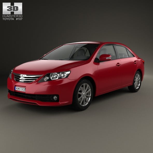 Toyota Allion (T260) 2010 - 3DOcean Item for Sale
