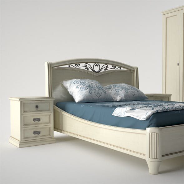 Camelgroup Nostalgia Bed - 3DOcean Item for Sale
