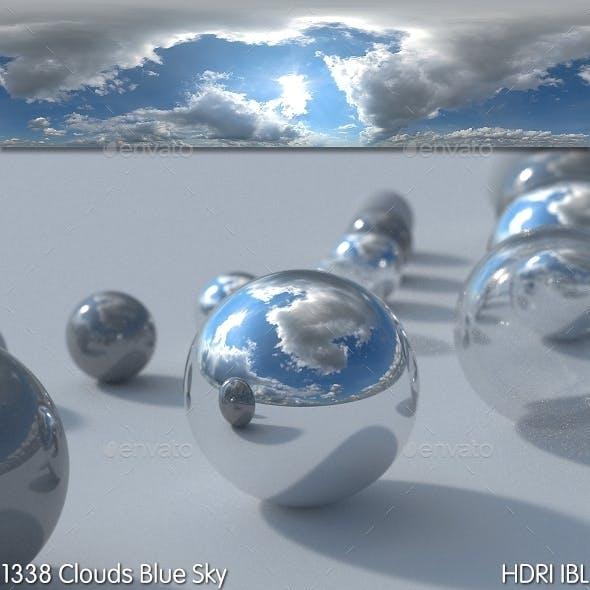HDRI IBL 1338 Clouds Blue Sky - 3DOcean Item for Sale