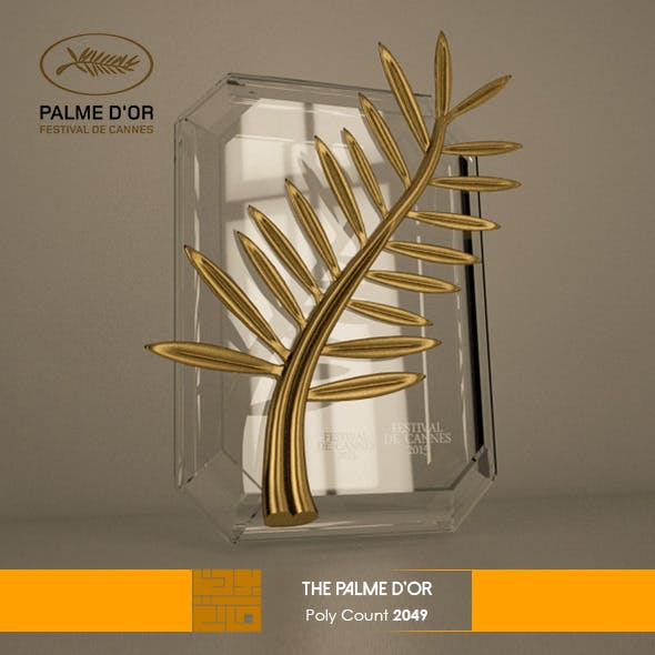 The Plame D'Or 3D Model