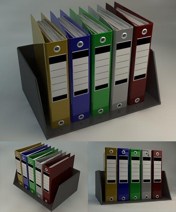 Office Folder - 3DOcean Item for Sale