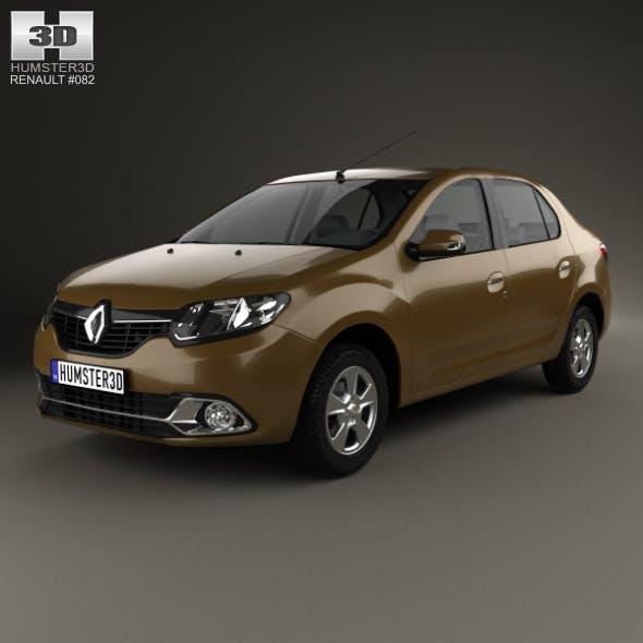 Renault Logan sedan (Brazil) 2013 - 3DOcean Item for Sale