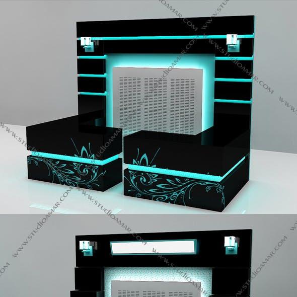 3D Counter Concept Design 134 Vol.2