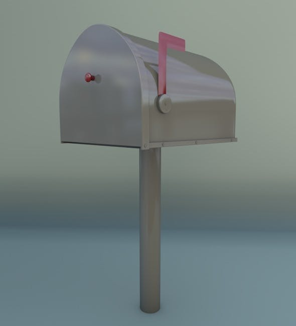 Mailbox - 3DOcean Item for Sale