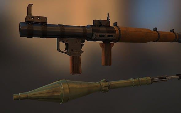 RPG-7 - 3DOcean Item for Sale