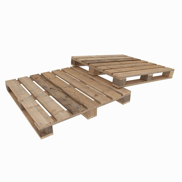 Wood delivery pallete - 3DOcean Item for Sale