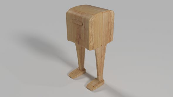 Post Box Rigged - 3DOcean Item for Sale