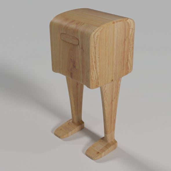 Post Box Rigged