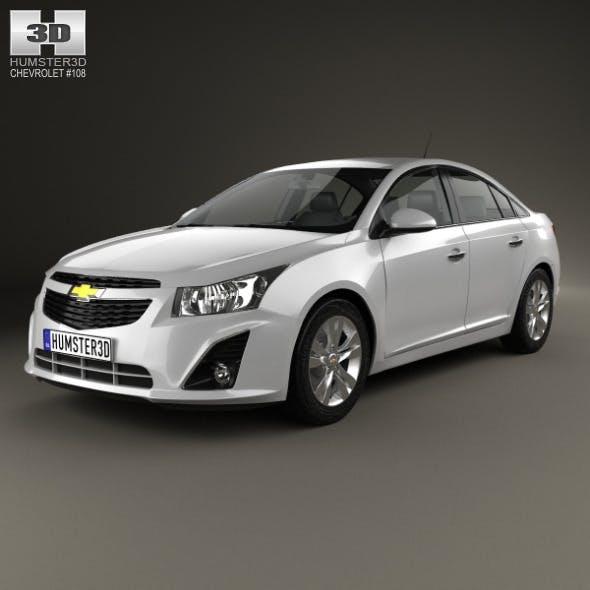 Chevrolet Cruze sedan 2013 - 3DOcean Item for Sale