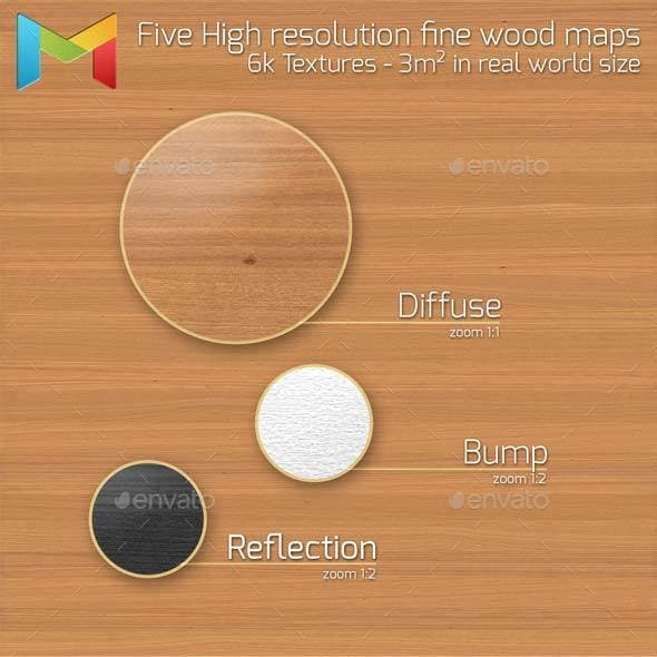 Fine Wood HQ Textures