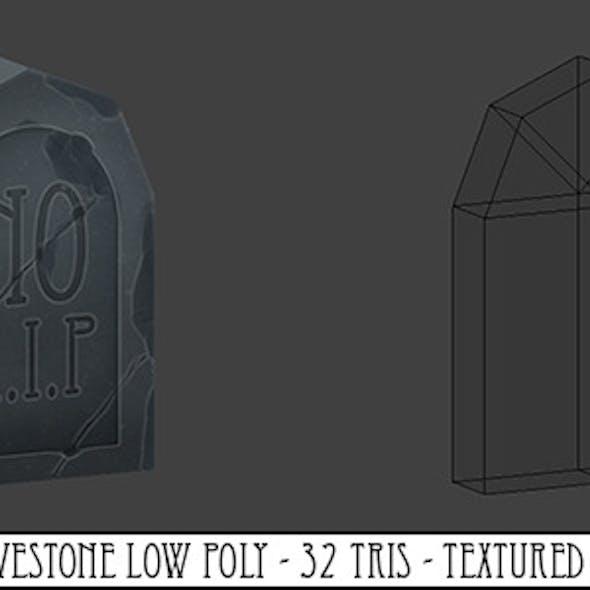 Gravestone Low Poly