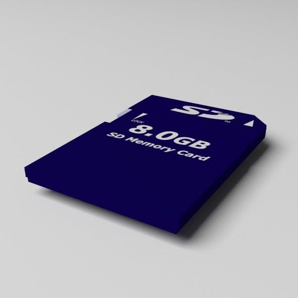 SD-Card - 3DOcean Item for Sale
