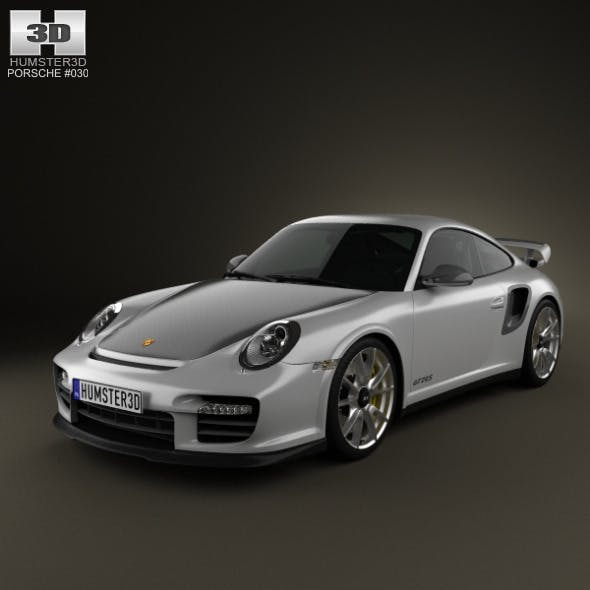 Porsche 911 GT2RS 2011 - 3DOcean Item for Sale