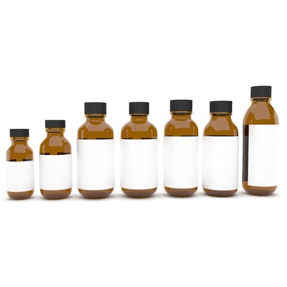 Medical bottles 7 - 3DOcean Item for Sale