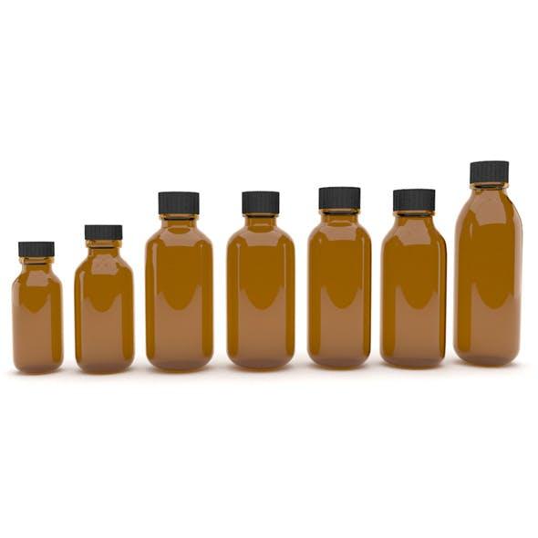 Medical bottles 8 - 3DOcean Item for Sale