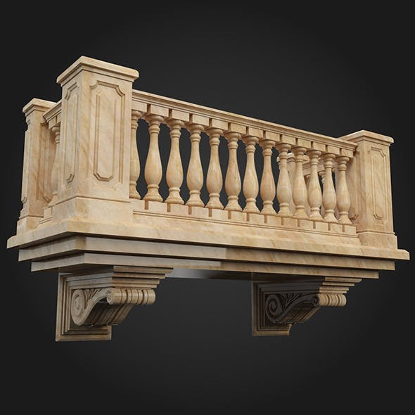 Balcony 002 - 3DOcean Item for Sale