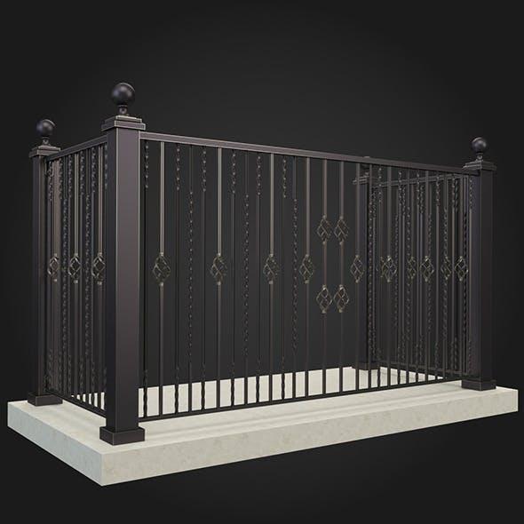 Balcony 004 - 3DOcean Item for Sale