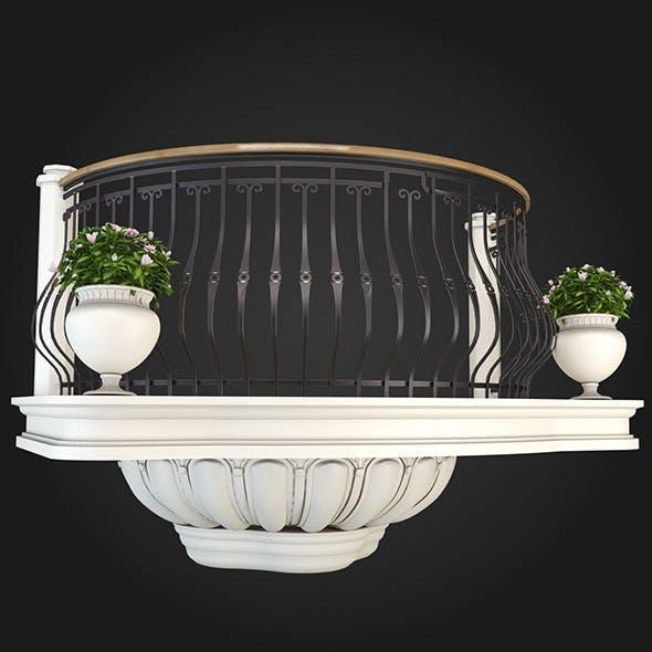 Balcony 007 - 3DOcean Item for Sale