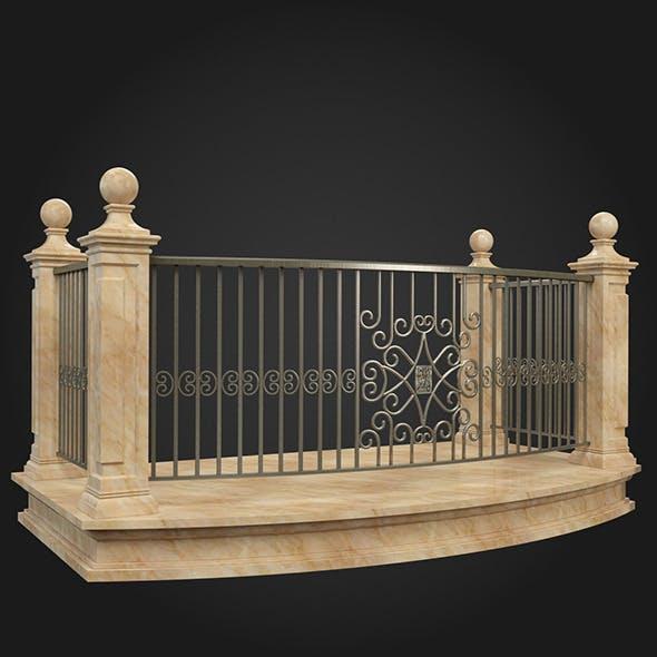 Balcony 009 - 3DOcean Item for Sale