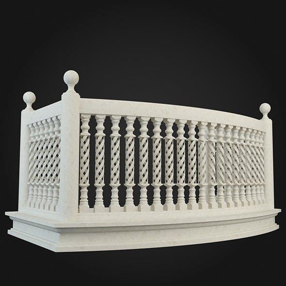 Balcony 013 - 3DOcean Item for Sale