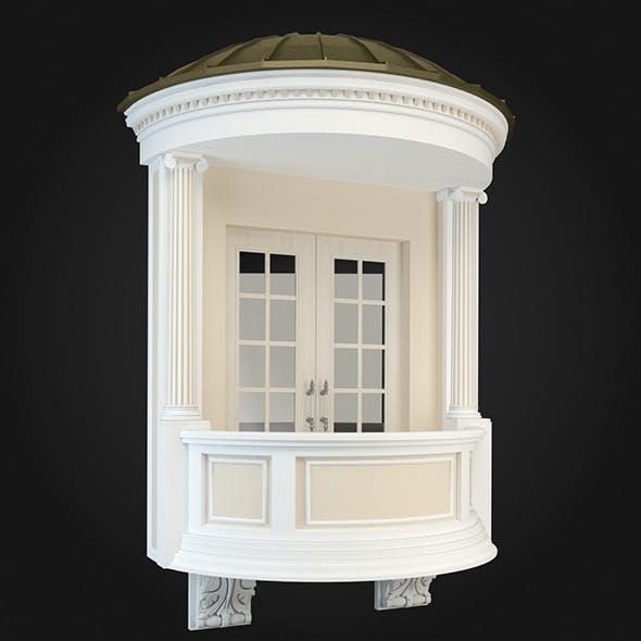 Balcony 019 - 3DOcean Item for Sale