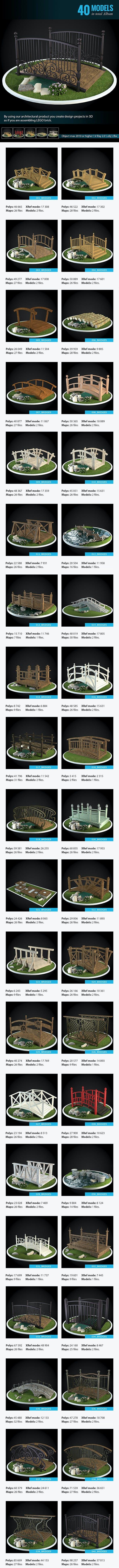 Bridges Collection - 3DOcean Item for Sale