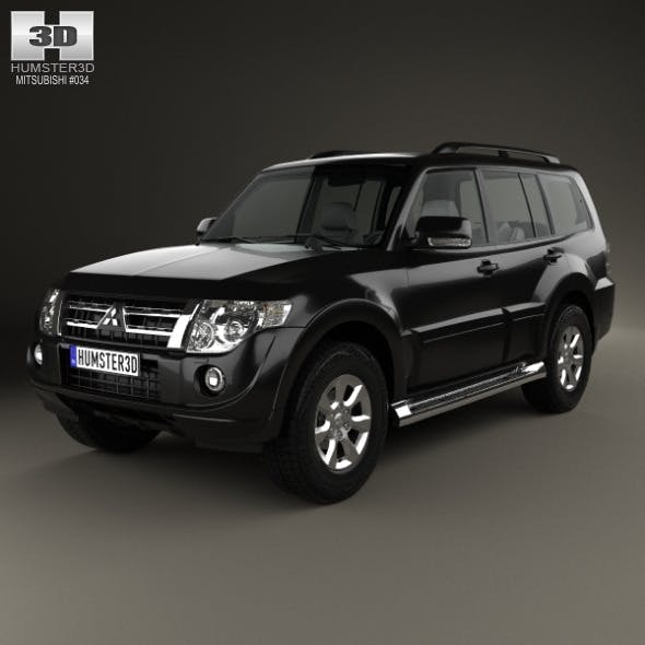 Mitsubishi Pajero (Montero) Wagon 2011 - 3DOcean Item for Sale