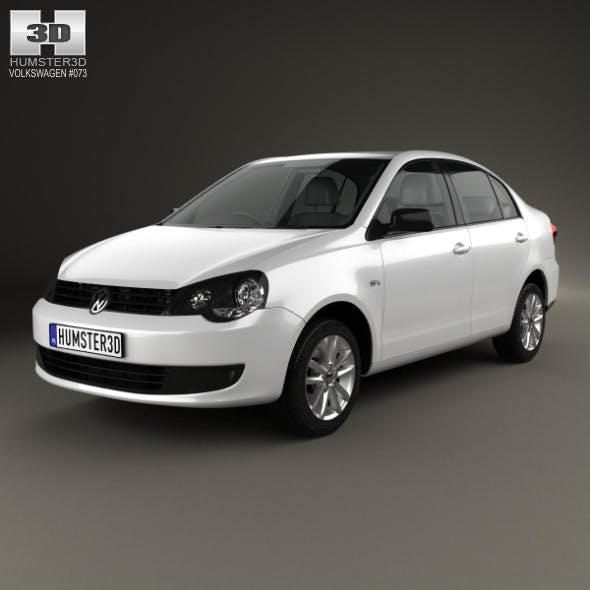 Volkswagen Polo Vivo sedan 2010 - 3DOcean Item for Sale
