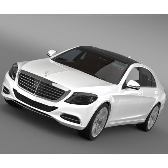 Mercedes Benz S 300 BlueTec Hybrid W222 2014 - 3DOcean Item for Sale