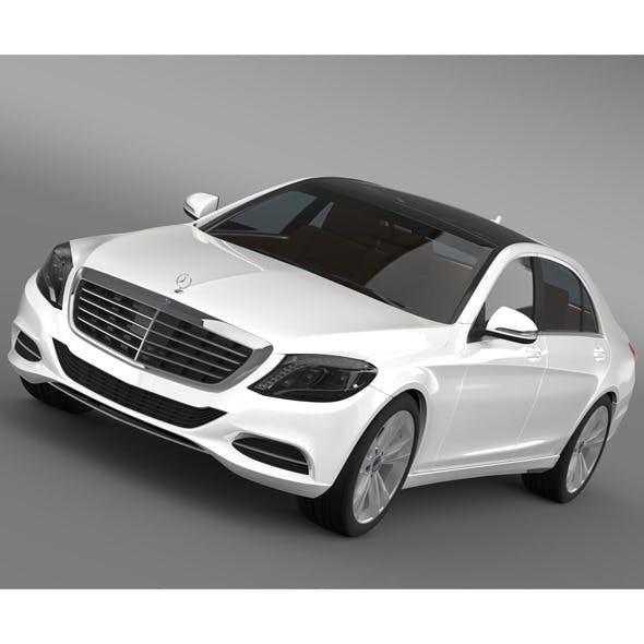 Mercedes Benz S 350 BlueTec W222 2013 - 3DOcean Item for Sale