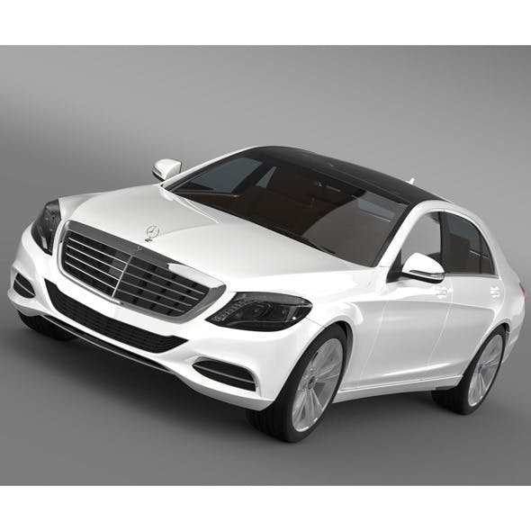 Mercedes Benz S 500 W222 2013 - 3DOcean Item for Sale