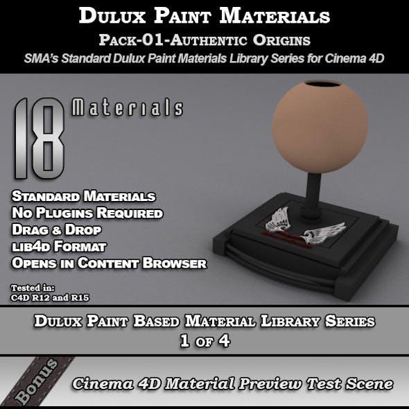 Dulux Paints Series Pack-01-AuthenticOrigins [C4D]