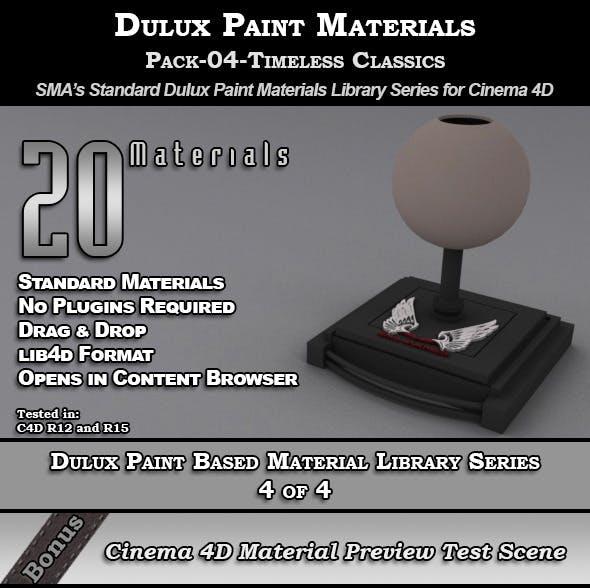 Dulux Paints Series Pack-04-TimelessClassics [C4D] - 3DOcean Item for Sale
