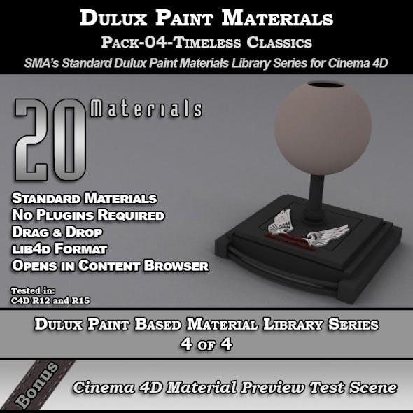Dulux Paints Series Pack-04-TimelessClassics [C4D]