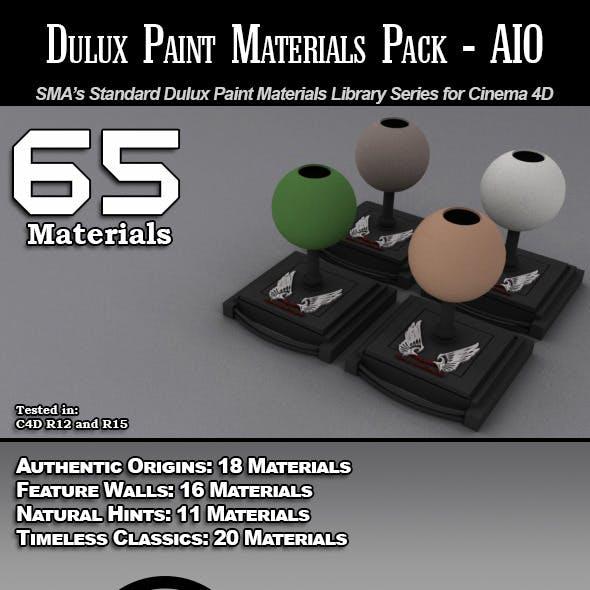 SMA's Dulux Paints Series-AIO for Cinema 4D