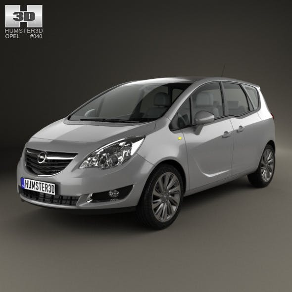Opel Meriva (B) 2013 - 3DOcean Item for Sale