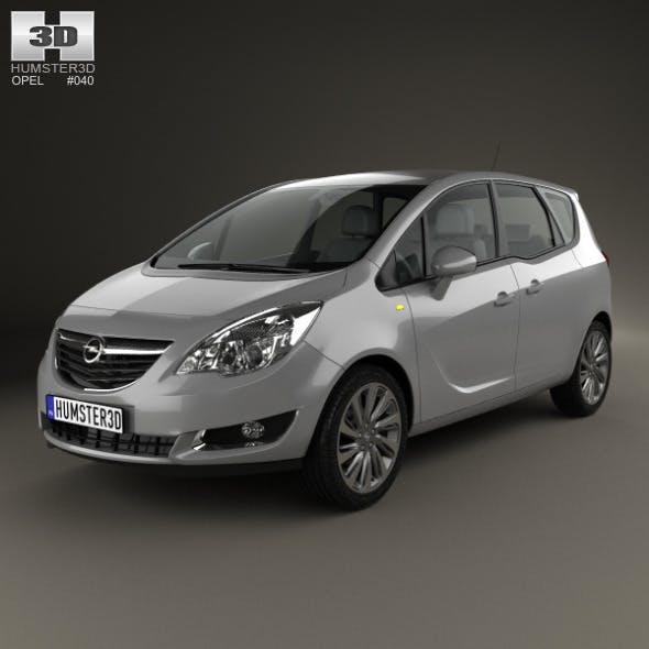 Opel Meriva (B) 2013