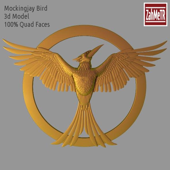 Mockingjay Bird 3d Model (Hunger Games) - 3DOcean Item for Sale