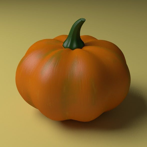 Pumpkin - 3DOcean Item for Sale