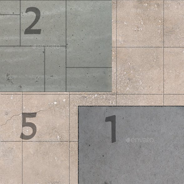 11 Seamless Concrete Textures