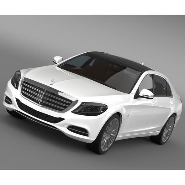 Mercedes Benz S 600 V12 W222 2014 - 3DOcean Item for Sale
