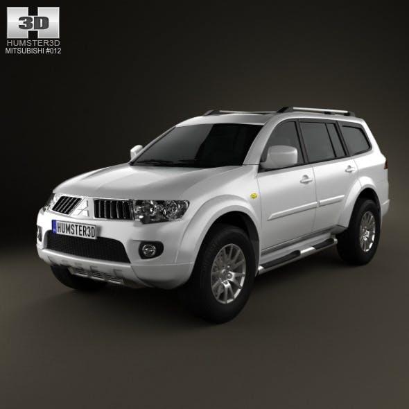 Mitsubishi Pajero Sport 2009 - 3DOcean Item for Sale