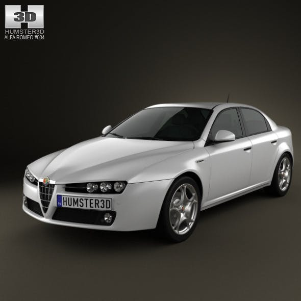 Alfa-Romeo 159 sedan 2009 - 3DOcean Item for Sale